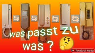 Was für ein Siedle Telefon hab ich, was passt beim Austausch  der Sprechanlage  ht 811, 711, 611....