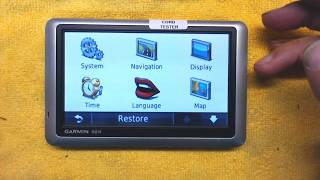 Tutorial and Operation Instructions for Garmin Nuvi 1300 1350 1450 1490 GPS