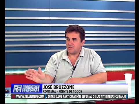 JOSÉ BRUZZONE EN REPORTE