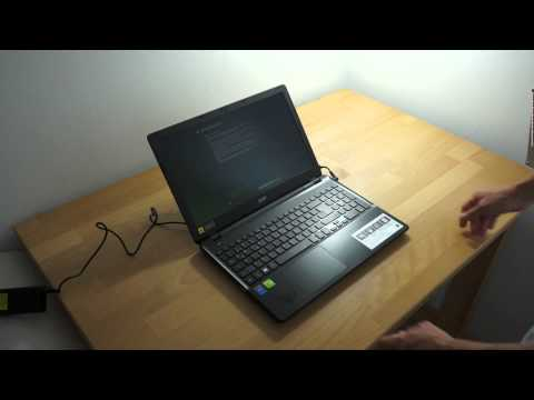Acer Aspire E5-571G Unboxing