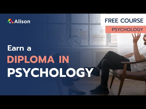 Diploma in Psychology- Alison Free Online Course Preview - YouTube
