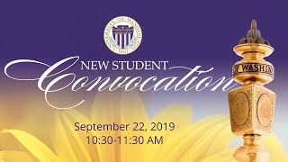 2019 New Student Convocation