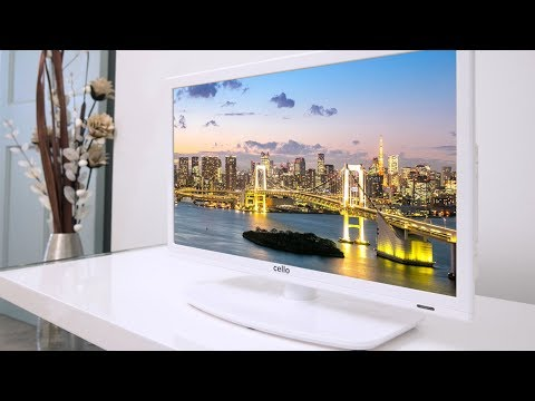 """20"""" LED TV with DVD Player - C20230FT2 White"""