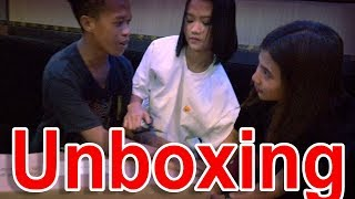 Mariano, Kat & Belle - Unboxing Music Equipment | SY Talent Entertainment
