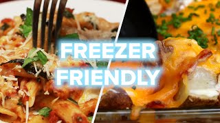 5 Freezer-Friendly Dinners You Can Prep On Sunday •Tasty