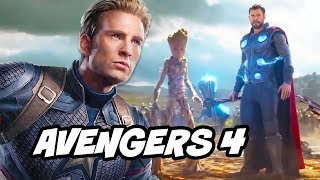 Avengers 4 Plot Teaser and Guardians Of The Galaxy News Explained