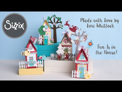 Made with Love by Lori Whitlock! | Sizzix
