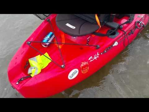My kayak set up. Perception pescador tandem