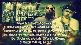 El Party Me Llama - Daddy Yankee Ft. Nicky Jam ★REGGAETON 2012★ DALE ME GUSTA