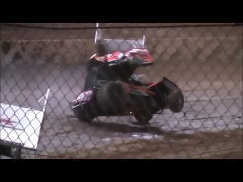 Sprint Car Crashes (BLOOD WARNING)