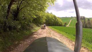 preview picture of video 'Chiltern Valley Vintage Tractor Run 2012'