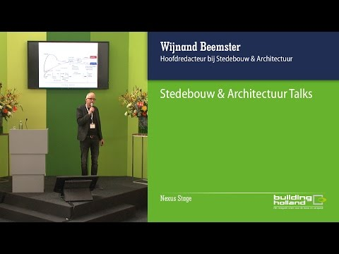 Stedebouw & Architectuur Talks - Jouke Post
