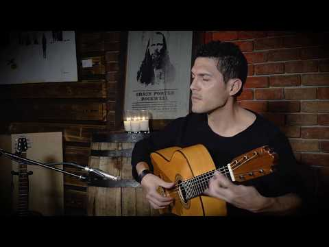 Antonio Garcia performs 'Malaguena' at OP Rockwell Room         (Park City, UT)