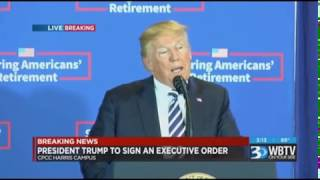 President Trump Gives Shoutout to Lt Governor Forest in Charlotte