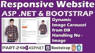 Responsive Website-ASP.NET&Bootstrap-Part 24-Online Shopping Site-Dynamic Image carousel