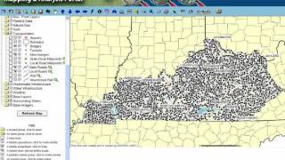 Kentucky's Geographic  Information System