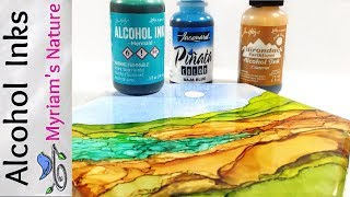 36]  ALCOHOL INK : Getting Started - INFO - DEMOS - How To Use Alcohol Inks For Beginners