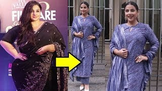 Vidya Balan Unbelievable Weigh Gain At Shakuntala Devi Movie Promotion