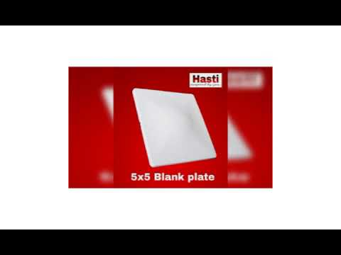 Square Blank Plate
