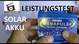 Billige Solar Batterie reparieren #Desulfator #Pulser Reparatur des 12 Volt Akkus How to