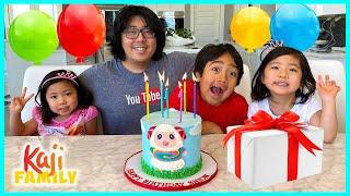 Daddy's Happy Birthday Celebration Special with Animal friends!!!