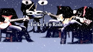Ticket To Ride 涙の乗車券   The Beatles Karaoke Cover