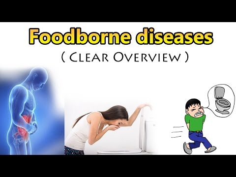 Video Food Borne diseases ( Clear Overview )