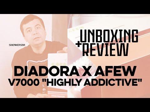 UNBOXING+REVIEW – Diadora X Afew V7000 'Highly Addictive'