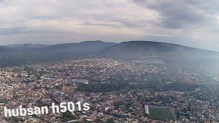 Vuelo de drone hubsan h501s a maxima altura 250m