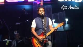 arjit singh live performance .Hamdard song
