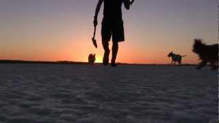 Meteorite Hunting On Lake  - Dry Salt Lake In Western Australia - Part 1
