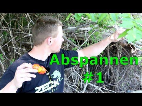 Abspannen #1 - genaue Platzbesichtigung + Anbringen der Ausleger - www.zeck-fishing.com