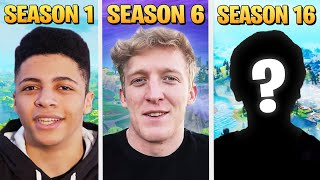 Ranking the BEST Fortnite Player from Each Season!