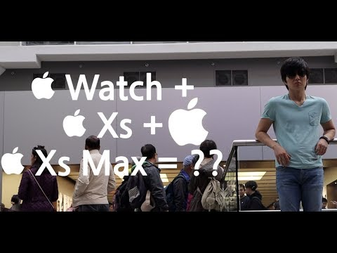 CANADA Apple Store | Apple Watch Series 4, iPhone Xs, Xs Max, Xr | 캐나다 애플스토어 아이폰 Xs,  Xs Max, Xr