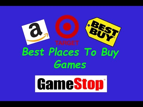 Best Places to Buy Games