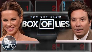 Box of Lies with Kate Beckinsale | The Tonight Show Starring Jimmy Fallon