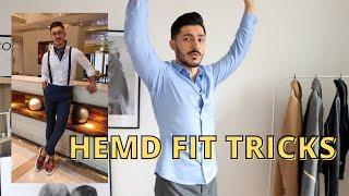 7 Tricks damit du weißt, ob dir dein Hemd passt! Shopping Tipps | Männer