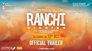 Official Trailer: Ranchi Diaries | Soundarya Sharma | Himansh | Anupam Kher | Jimmy Shergill