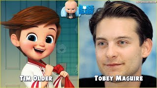 'The Boss Baby' Cast - Meet the Voices