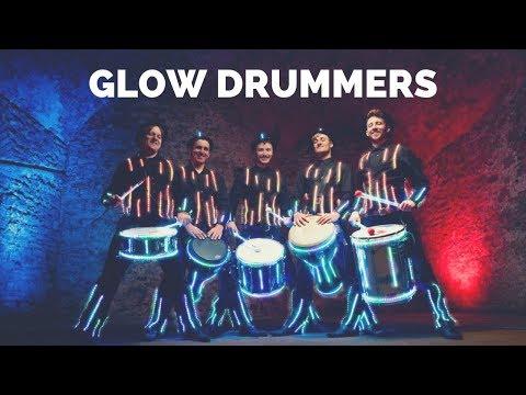 Glow Drummers Video