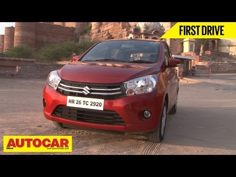 Maruti Suzuki Celerio EZ Drive Automatic & Manual | First Drive Video Review