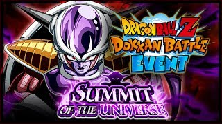 GINYU FORCE TEAM!! - LR FRIEZA DOKKAN BATTLE EVENT w/ Titos