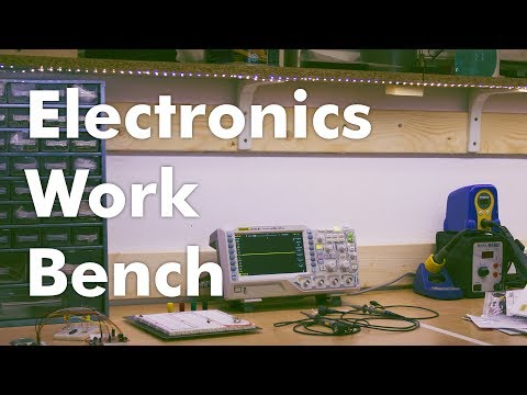 How To make a DIY Electronics Work Bench – Part 1