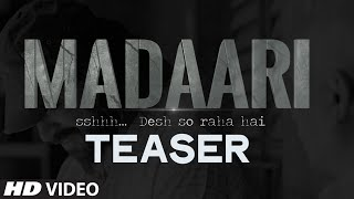 Madaari - Teaser Video