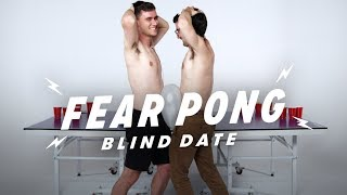 Blind Dates Play Fear Pong (Joe vs. Chris) | Fear Pong | Cut