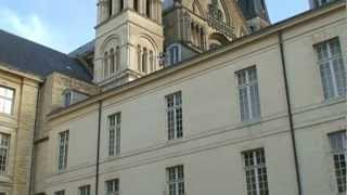 preview picture of video 'FRANCE REIMS WALK/ランス 40:サン・レミバジリカ聖堂 Basilique St-Remi'