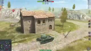 Wot Blitz мастер на AMX 13 90 и приколы из кино(угадайте какого)