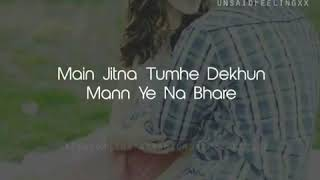 Mera Pyar Tera Pyar LYRICS - YouTube