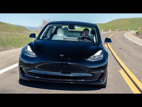 TESLA Model Y Reveal Model 3 Road Trip and Factory Tour   Top Gear