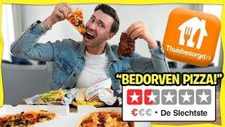 Eten Bestellen Bij Het SLECHTSTE THUISBEZORGD RESTAURANT!